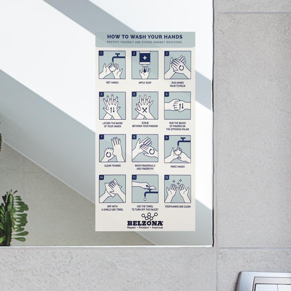 Belzona Hand Wash Decal Promo Item