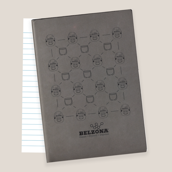 Belzona Single Use Notebook Promo Item