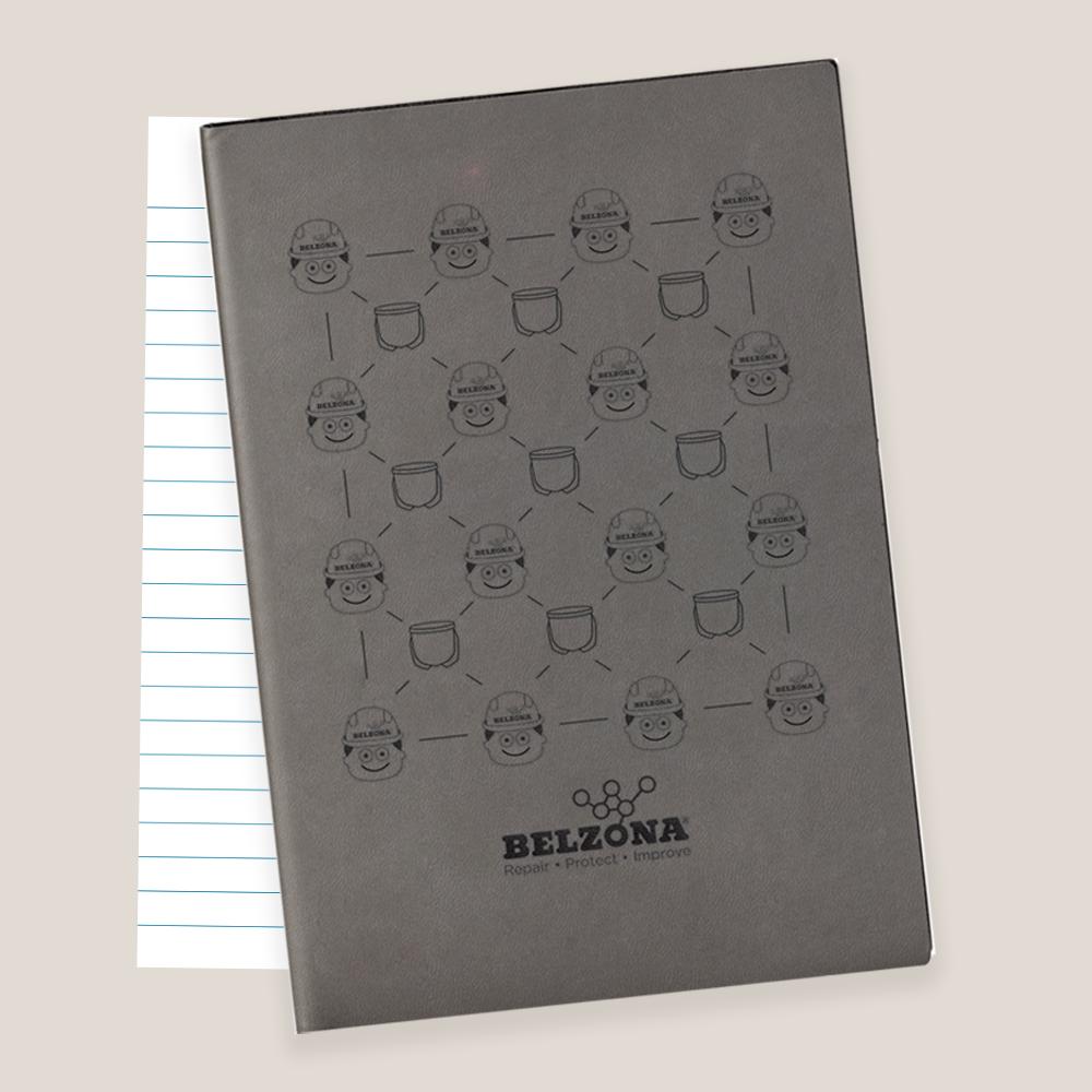 Belzona Single Use Notebook Promo Item